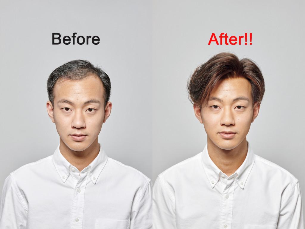 假髮髮型-男性