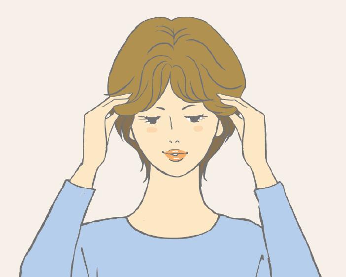 半頂式假髮配戴教學-步驟二