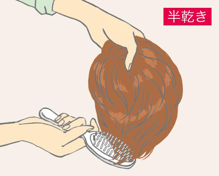 混合髮絲清洗-步驟三