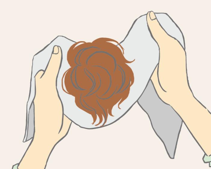 混合髮絲清洗-步驟二