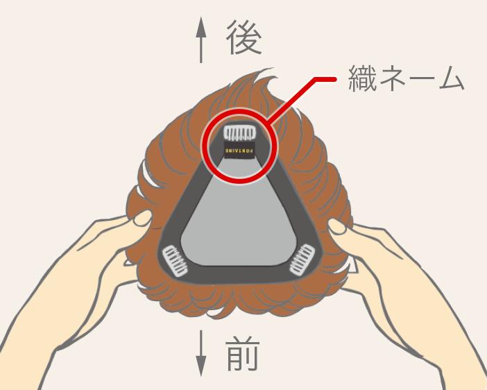 髮片配戴教學-步驟一